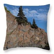 Mchugh Falls Throw Pillow by Heike Ward
