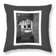 Mcintosh Sugar Mill Tabby Ruins Arch Throw Pillow