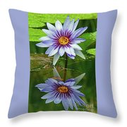 Mckee Waterlily II Throw Pillow