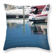 Mckinley Marina 1 Throw Pillow