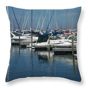 Mckinley Marina 2 Throw Pillow