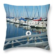 Mckinley Marina 4 Throw Pillow