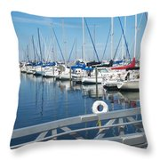 Mckinley Marina 5 Throw Pillow