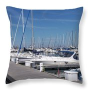 Mckinley Marina 6 Throw Pillow