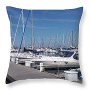 Mckinley Marina 6 Throw Pillow