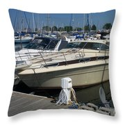 Mckinley Marina 7 Throw Pillow