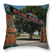 Mclain Rogers Entrance Throw Pillow