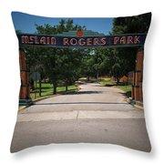 Mclain Rogers Park Throw Pillow