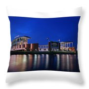 Mclane Stadium Evening Throw Pillow