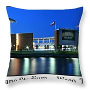 Mclane Stadium Print Throw Pillow