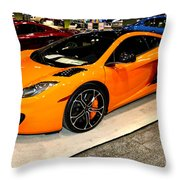 Mclaren 12c Coupe Throw Pillow