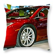 Mclaren 12c Spider Number 1 Throw Pillow
