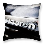 Mclaren 12c Spider Rear Emblem -0143ac Throw Pillow