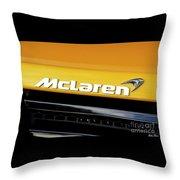 Mclaren Throw Pillow