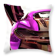 Mclaren Throw Pillow