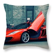 Mclaren Mp4-12c Throw Pillow