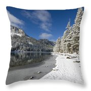 Mcleod Lake Throw Pillow