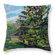 Mcmichael Spruce Throw Pillow