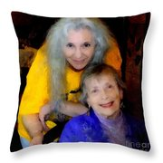 Me And B Throw Pillow