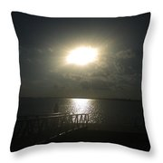 Me And My Thoughts Throw Pillow