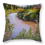 Meadow And Marsh Throw Pillow