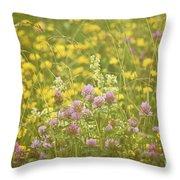 Meadow Dreams... Throw Pillow