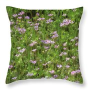 Meadow Field  Throw Pillow