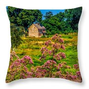 Meadow House At Longwood Throw Pillow