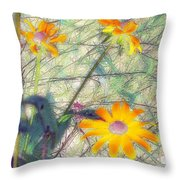 Meadow Out Loud Throw Pillow
