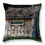 Meadow Shelter Throw Pillow