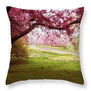 Meadow Views Throw Pillow