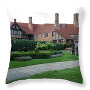 Meadowbrook Hall Throw Pillow