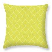 Meadowlark Quatrefoil Throw Pillow