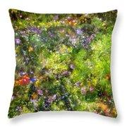 Meadowstars In Manx Throw Pillow