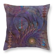 Meandering Acquiescence Throw Pillow