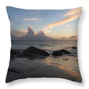 Meandering Light Throw Pillow