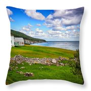 Meat Cove Throw Pillow