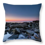 Meatballs Without A Chance For Clouds Throw Pillow