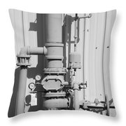 Mechanical Doo Dad Throw Pillow