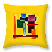 Mechanical Suite Throw Pillow