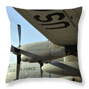 Mechanics Change An Auxiliary Power Throw Pillow