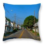 Mechanicsburg Pa Throw Pillow
