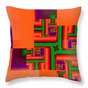 Mechanisms Throw Pillow
