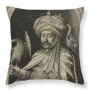 Mechti Kuli Beg Persian Ambassador To Prague Throw Pillow