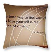 Med 146 Throw Pillow