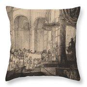 Medea, Or The Marriage Of Jason And Creusa Throw Pillow