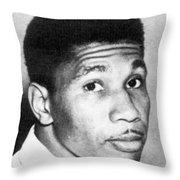Medgar Evers (1925-1963) Throw Pillow