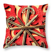 Medi-evil  Throw Pillow
