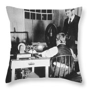 Medical X-ray, 1896 Throw Pillow