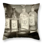 Medicinal Remedy Throw Pillow